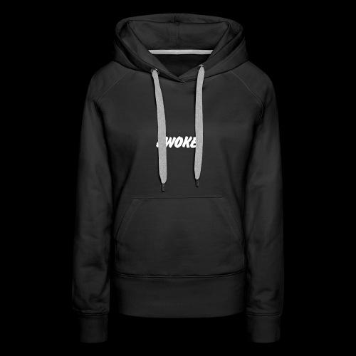 The Awoke Logo - Women's Premium Hoodie
