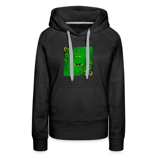 leprechaun shirt - Women's Premium Hoodie
