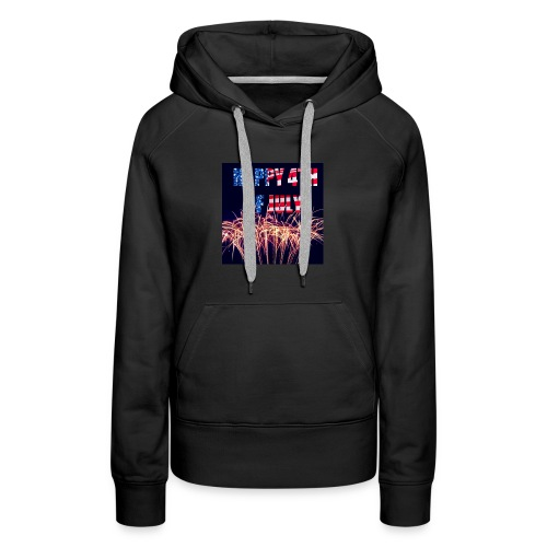 Happy 4th Of July 2018 - Women's Premium Hoodie