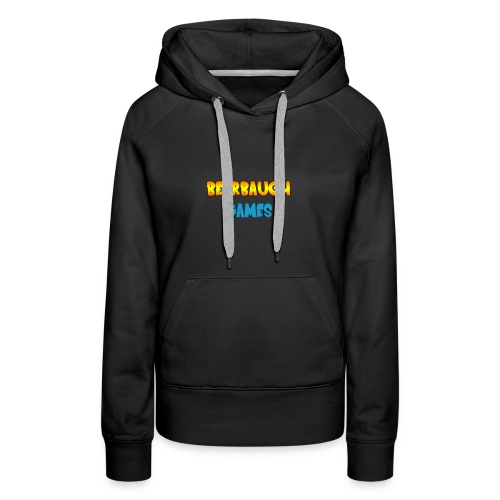 Bearbaugh Text Front - Women's Premium Hoodie