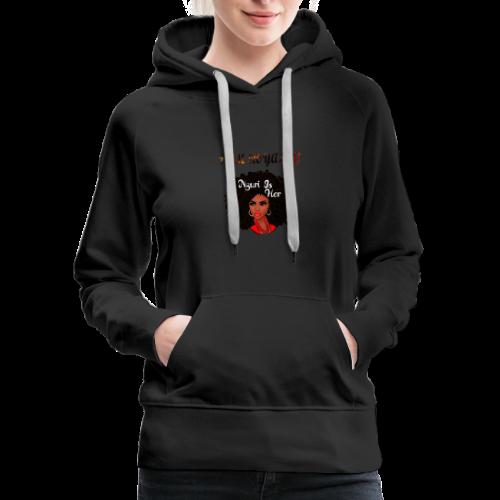 i am royalty design - Women's Premium Hoodie