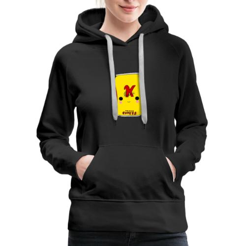 Kawaii Cute Tennants Lager Can - Women's Premium Hoodie