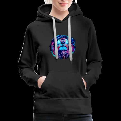 Galaxy Lion - Women's Premium Hoodie