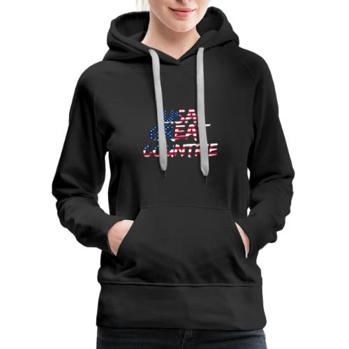 USA IS THE BEST - Women's Premium Hoodie