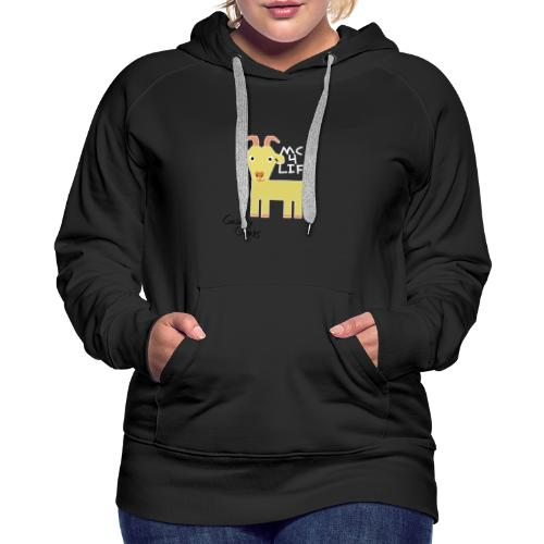 Limited Edition Galaxy Goats Merch - Women's Premium Hoodie