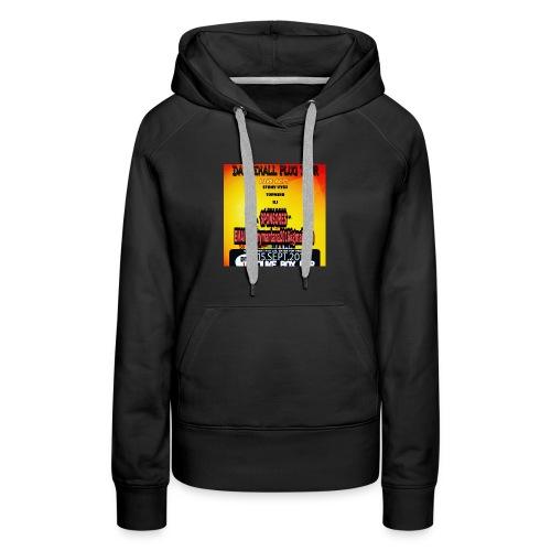 Dancehall plug tour Germany t-shirts TWG MUSIC - Women's Premium Hoodie