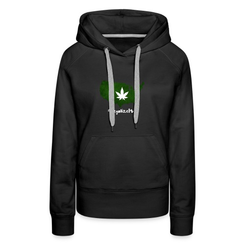 #LegalizeIt : National Weed League - Women's Premium Hoodie
