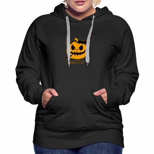 halloween-pumpkin-2 - Women's Premium Hoodie