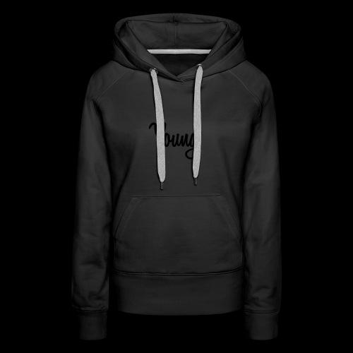 Young Black Logo - Women's Premium Hoodie