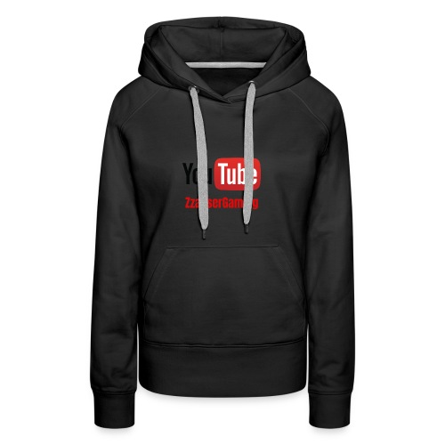 YouTube ZzasserGaming - Women's Premium Hoodie