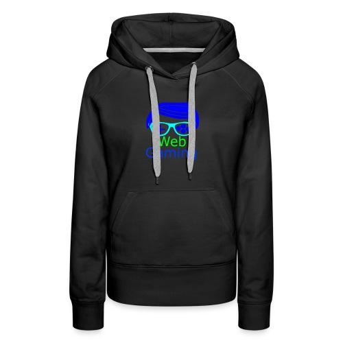 New Web Gaming Channel Logo - Women's Premium Hoodie