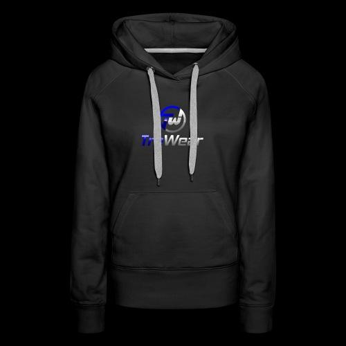 TRE Wear Logo - Women's Premium Hoodie