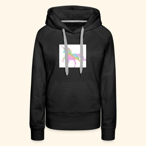 Cool Merch here by me it's unicorns - Women's Premium Hoodie