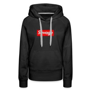 wear the savage things - Women's Premium Hoodie