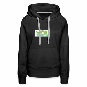 Younow logo - Women's Premium Hoodie