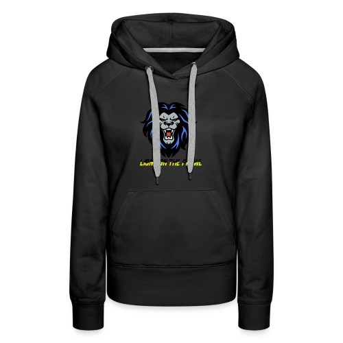 Lions On The Prowl` - Women's Premium Hoodie
