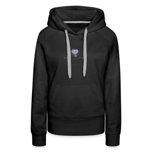 pro_logo_png_444444 - Women's Premium Hoodie