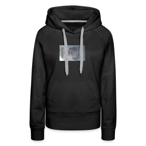 20160824_155409queen wear high profile staying 100 - Women's Premium Hoodie