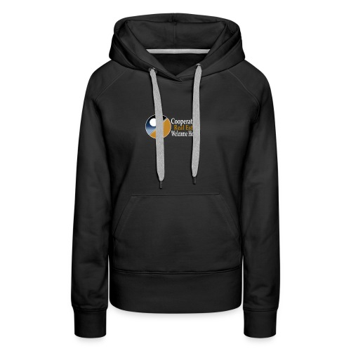 00044_Logo_horizontal_for_dark_backgrounds_-1- - Women's Premium Hoodie