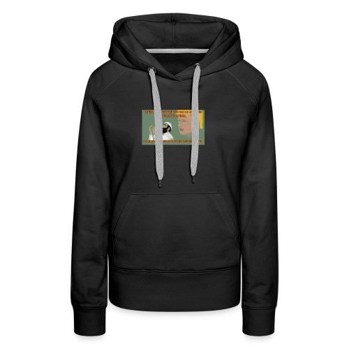 Aggression never solved anything - Women's Premium Hoodie