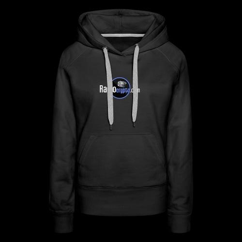 RadioCrypto Logo 1 - Women's Premium Hoodie