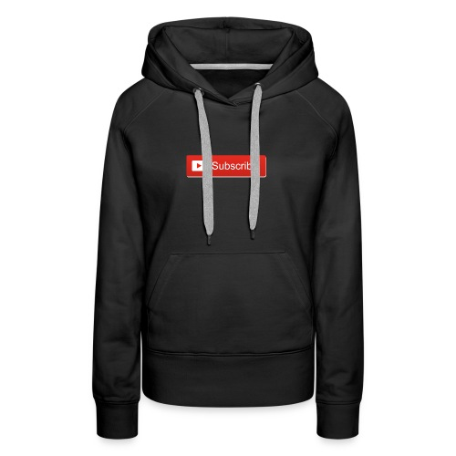 youtube_subscribe_button - Women's Premium Hoodie