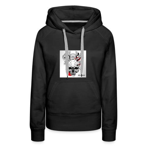 zt flameskull 01 - Women's Premium Hoodie