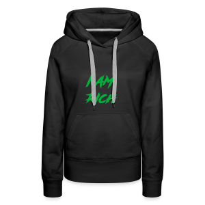 I AM RICH (WASTE YOUR MONEY) - Women's Premium Hoodie