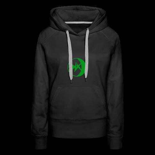 EKlips Clothing Green/Blk - Women's Premium Hoodie