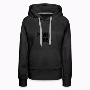 100% Power Top - Women's Premium Hoodie