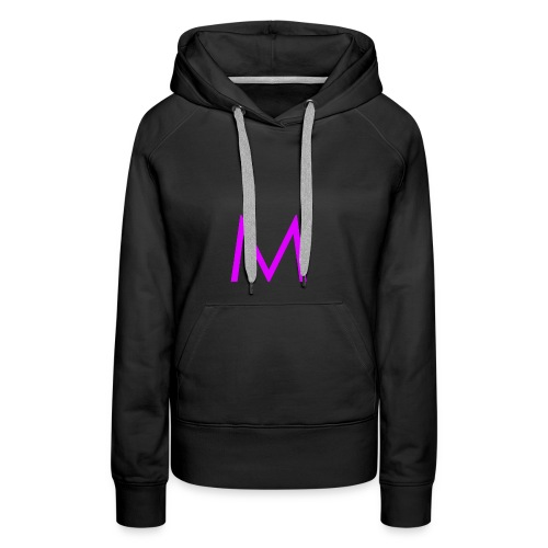 Single purple 'm' - Women's Premium Hoodie