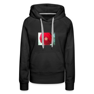 The red flower - Women's Premium Hoodie
