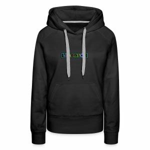 Bink Nation Neon Logo Jacket - Women's Premium Hoodie