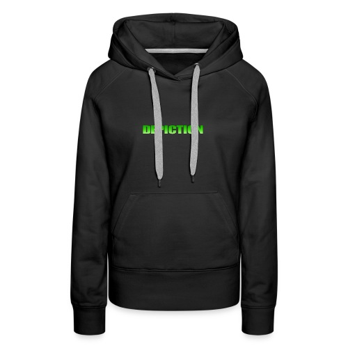 Depiction Impact [GREEN] - Women's Premium Hoodie