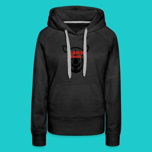 Youtube logo red - Women's Premium Hoodie