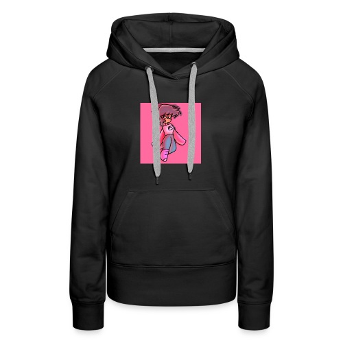 PINK LEADER BLUECATZYT - Women's Premium Hoodie