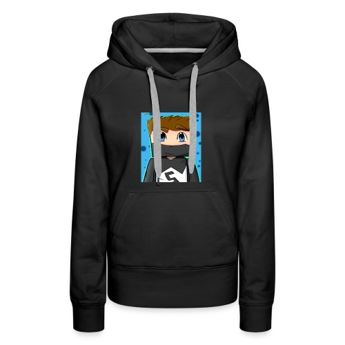 MY YT CHANNEL LOGO SHIRT - Women's Premium Hoodie