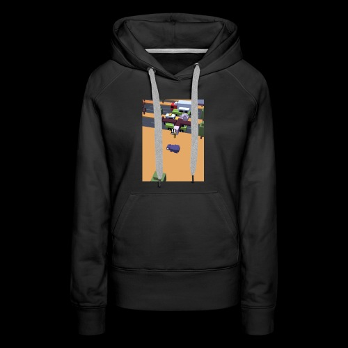 chicken run - Women's Premium Hoodie