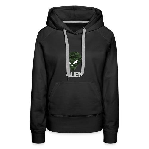 Military Alien - Women's Premium Hoodie