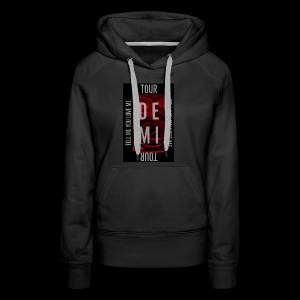Demi Tell Me You Love Me Tour Shirt - Women's Premium Hoodie