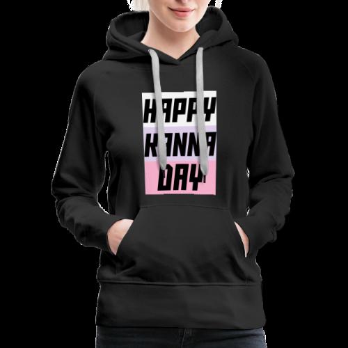 Miss Kobayashi's Dragon Maid Happy Kanna Day - Women's Premium Hoodie
