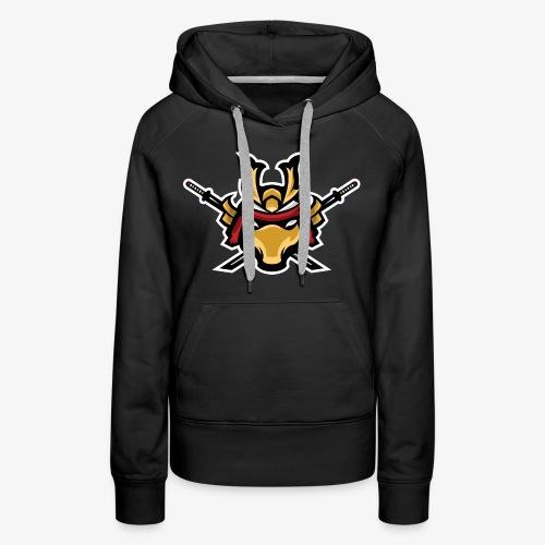 Samurai mascot - Women's Premium Hoodie