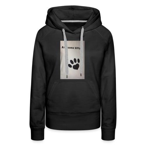 Stay Awesome kitties - Women's Premium Hoodie
