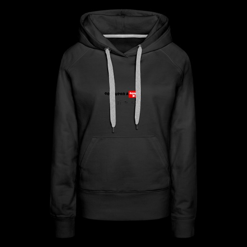 Once Upon A Genny Youtube! - Women's Premium Hoodie