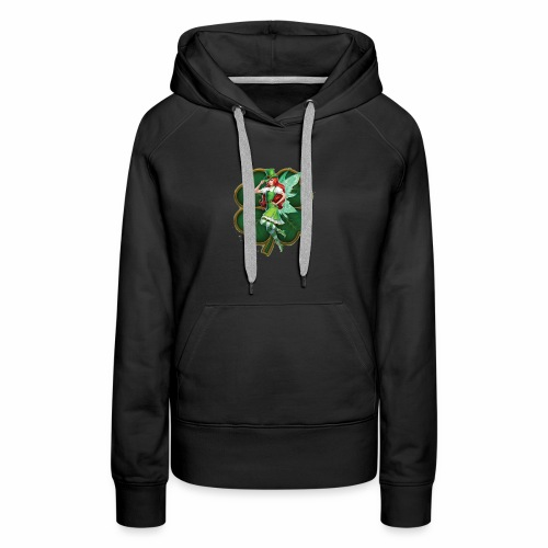 Irish Fairy Four Leaf Clover - Women's Premium Hoodie