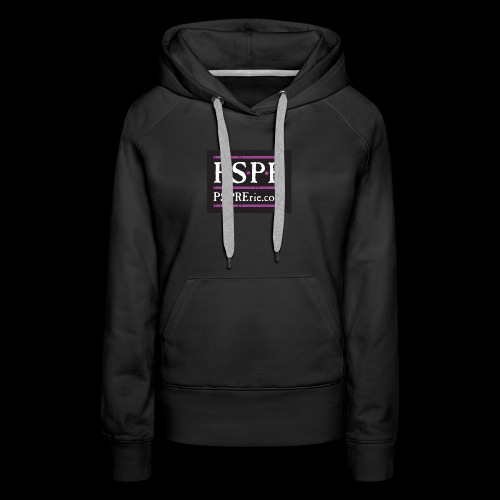 PSPR Logo Black - Women's Premium Hoodie