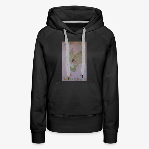 Ima Unicorn Yoshi - Women's Premium Hoodie