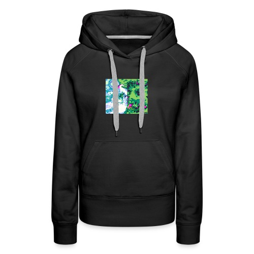 Cannabidiolhub white light custom logo - Women's Premium Hoodie