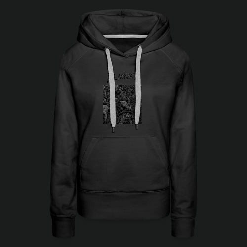 Mortal Curse Single Cover Design - Women's Premium Hoodie