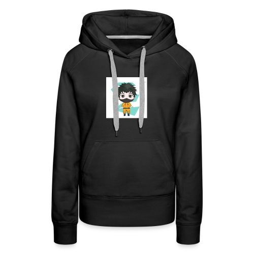 The mini x vampire logo - Women's Premium Hoodie